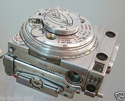 Rare Jaeger Le Coultre Compass Miniature Camera Switzerland 1939