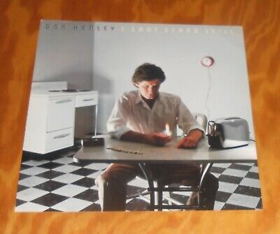 Don Henley I Can't Stand Still Poster Flat Square Promo 12x12 The Eagles