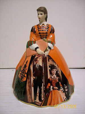 Gone With The Wind 'The Mill Dress'  Figurine Bradford Exchange 2007