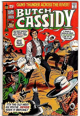BUTCH CASSIDY #1 (FN+) 1971 Western Skywald Comics 52 Pages