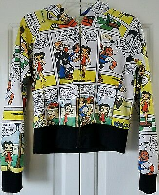 Lot 29 Betty Boop Comic Strip Jacket Size M