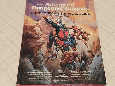 Dungeons & Dragons (Advanced) Dungeoneer's Survival Guide  (hardcover) 2019