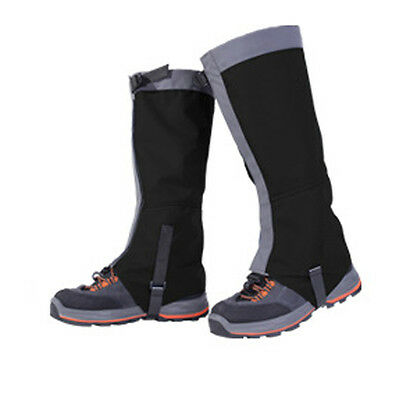 Waterproof Climbing Hiking Walking Boot Leggings Trekking Gators Snow Gaiters