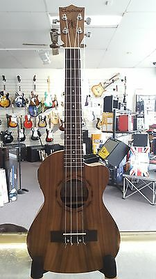 Tanglewood Koa Body Tenor Electric Ukulele with Bag and built in Tuner