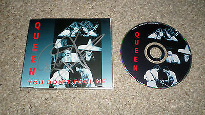 Queen Signed You Don't Fool Me UK CD Single Roger Taylor Autograph Mercury