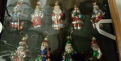 Thomas Pacconi Santas of the World Ornaments