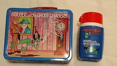 Vintage '74 Goober & The Ghost Chasers Lunch Box WITH THERMO thats the best part