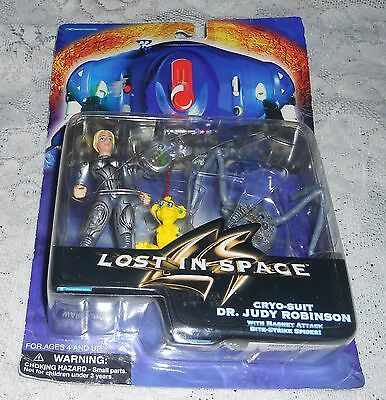 Danger Will Robinson Lost In Space Cryo-Suit Dr. Judy Robinson Figures