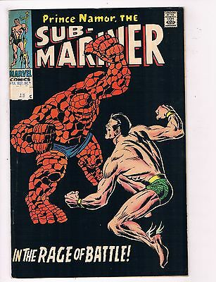 Sub-Mariner # 8 VF Marvel Comic Book Namor Subby Canning PEDIGREE Collection D21