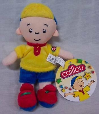 "CAILLOU LITTLE BOY 7"" Plush STUFFED ANIMAL Toy NEW"