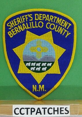 Bernalillo County, New Mexico Sheriff Police Shoulder Patch Nm
