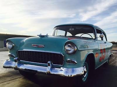 1955 Chevrolet Bel Air/150/210  1955 150 BelAir FULLY RESTORED JUDGED Certified Famous NHL PLAYER OWNED Low Mile