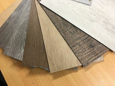 5mm Timber Looking Loose Vinyl Planks 5 Colours