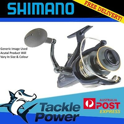 Shimano Thunnus 8000 Ci4 Baitrunner Fishing Reel Brand New! 10 Yr Warranty!