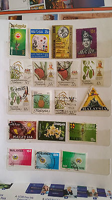 Malaysia - used stamps - lot2