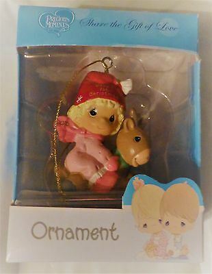 """2016 Precious Moments Girl's """"Baby's First Christmas"""" Ornament"""