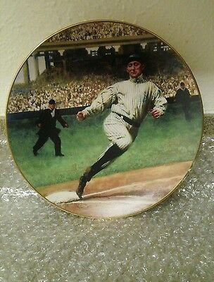 """1993 Ty Cobb 8 1/4 """" Color Plate."""