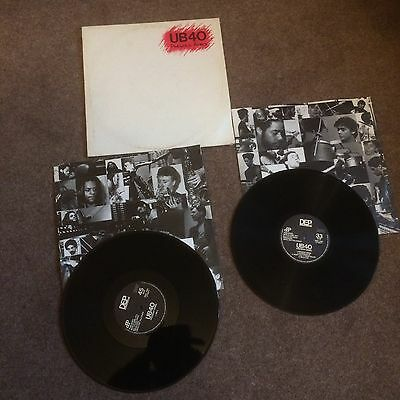 "Ub40~Present Arms~Vinyl Lp+12""ep~+Inners~Lp Dep1~ Good Condition"