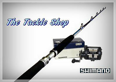 "5'6"" 15-24kg Roller Game Combo - Shimano TR200G LW Reel + Latitude DS168-24 Rod"