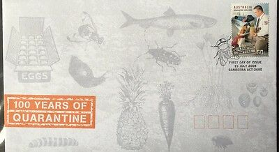 2008 Australia 100 Years Of Quarantine  First Day Cover FDC