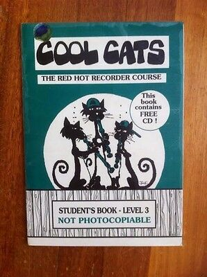 Cool Cats level 3. The Red Hot Recorder Course with CD