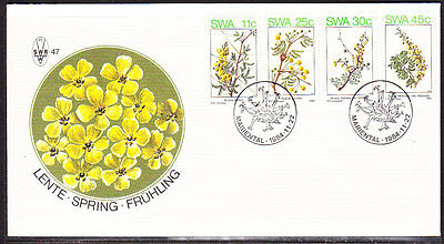 South West Africa  1984 -  Spring Flowers First Day Cover - Unaddressed