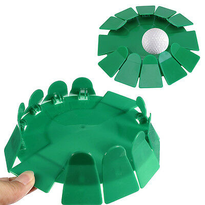 Green All-Direction Practice Putting Cup Golf Putter Training Aid Tool Indoor