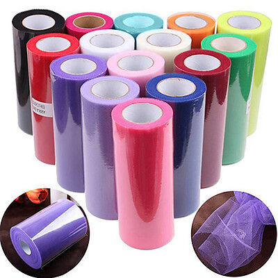 6Inch Tutu Skirt Tulle Roll Spool Gift Sewing Fabric Bridal Wedding Favors Nifty