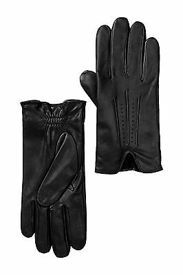 Nordstrom Men's Shop Perforated Detail Leather Gloves Size Large  NWT