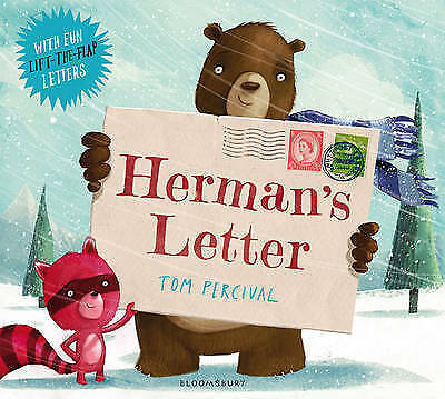 Herman's Letter BRAND NEW BOOK by Tom Percival (Paperback, 2013)