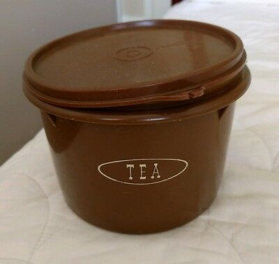 Vintage tupperware canister