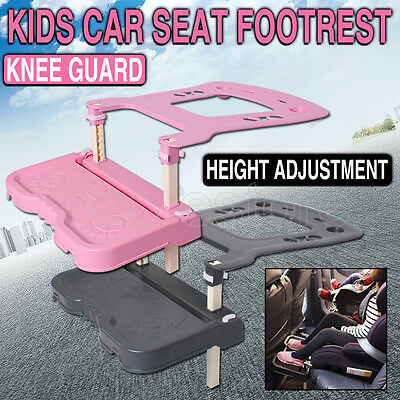 Knee Child Kids Car Seat Footrest Pedal Rack Foot Rest booster seat Safety Guard