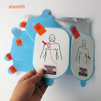 10 Pairs AED Training YP170 Replacement  Pads For AED Lifeline Trainer