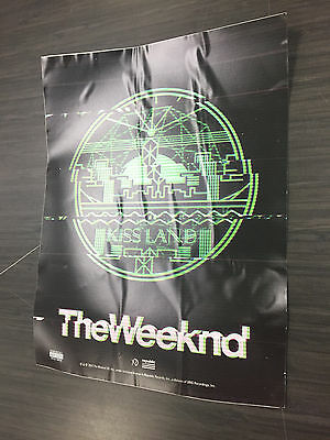 "The Weeknd - Kiss Land - Window Cling (12.5"" x 18.5"") - Drake Future - Starboy"