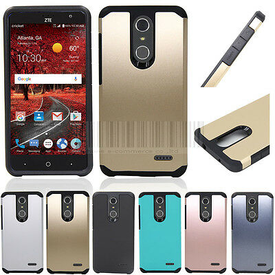 Hybrid Shockproof Armor Hard Bumper Protective Case Cover For ZTE Grand X 4 Z956