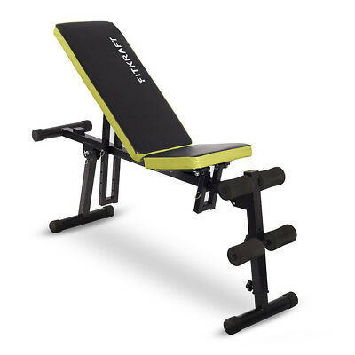 Multifunktionsbank Bauchtrainer Multipositionsbank Trainingsbank Hantelbank NEU
