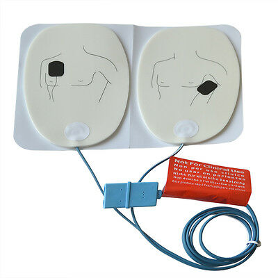 10 Pair/Lot Adult AED Defibrillate Trainer Replacement Pad For AED Training Pads
