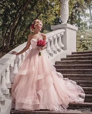Country Style Sweetheart Ruffle Wedding Dresses Wedding gowns Bridal Gown 2017