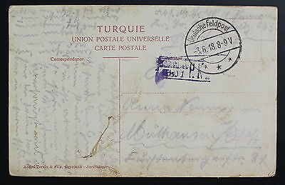 Palestine Germany, Field Post, Military PPC, Picture Postcard  #a640