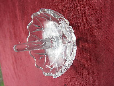 Vintage Lead Crystal Ring Holder Trinket Dish Bowl For the Dressing Table Boxed
