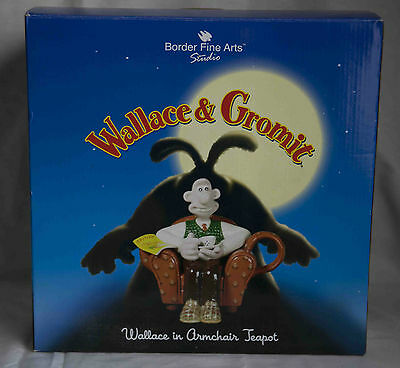 Wallace And Gromit - Wallace In Armchair Teapot  ( Mint Boxed )