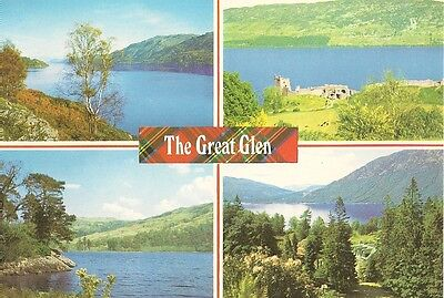 """Postcard - """"The Great Glen"""" - Unposted (PIN/22933)"""
