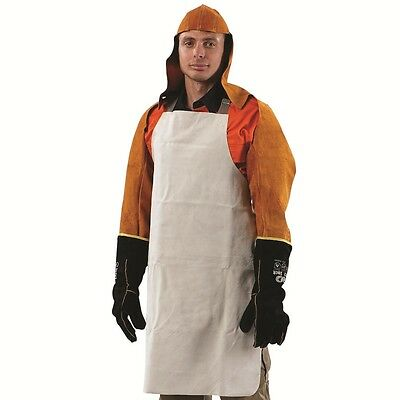 Prochoice LEATHER WELDING APRON 900x600cm Adjustable Neck & Waist Webbed Straps