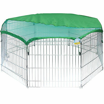 Me & My Pets Sun Net Cover For Medium Outdoor Playpen/pet Run Shade/sunshield