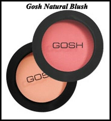 Gosh Natural Blush for Beautiful Finish 2 Shades -Rose Whisper or Electric Pink