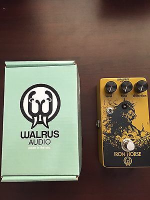 Distortion Pedal Electric Guitar - Walrus Audio Iron Horse