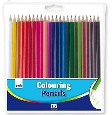 Pencil Crayons For Colouring Colour Picture Artist Pack Art Set Drawing For Book