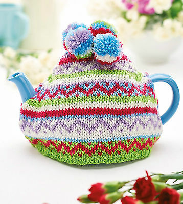tea cosy fair isle hand knit gift for her Easter Mother's Day gift breakfast set