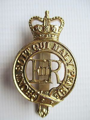 British Army Military Staybrite Cap Badge Household Cavalry
