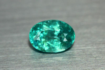 1.640 Ct 100% Natural! Excellent Cut Rare Superb Blue Apatite ~Rare To Find~!!!